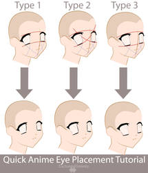 Anime Eye Placement Tutorial by EnchantedSerenity