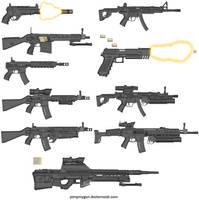 guns, Guns, GUNS by NeoMetalSonic360