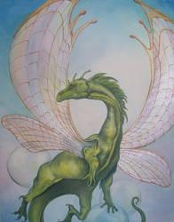 Dragon Study by ShadeyBabey