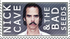 Nick Cave + Bad Seeds stamp by glitterkunt