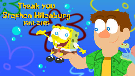 Thank you Stephen Hillenburg by JJsonicblast86