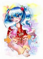 Jelly Miku by mirror-bluemoon