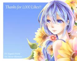 Kuroko no Basket - Thank for 1000likes!!! by mirror-bluemoon