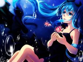 Vocaloid - Shinkai Shoujo by mirror-bluemoon