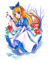 FairyTale - Alice in Wonderland by mirror-bluemoon