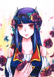 Original - Anemone by mirror-bluemoon