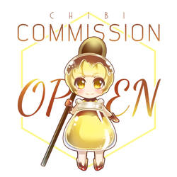 Chibi Commission OPEN by mirror-bluemoon