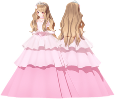 [MMD Request] Princess Tara by Smol-Hooman