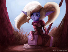 League of Legends Poppy by so-squiggly