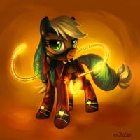 Applejack supermare by JedaySkayVoker