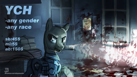 RE2 YCH: this is not how I expected my 1stday here by JedaySkayVoker