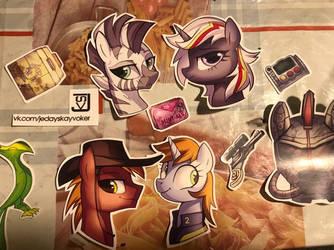 FoE stickers by JedaySkayVoker