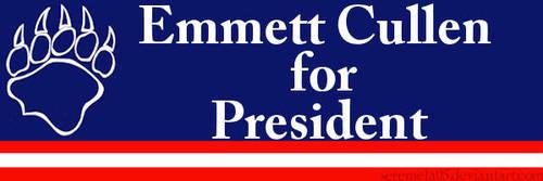Emmett Cullen for President by seremela05