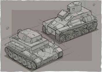 Tankette Drawthrough by John-Jo-Ong