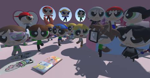Powerpuff Z 2 Party! by tifu