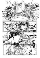 Flash page 1 inks Lashley by JoshTempleton