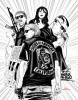 Sons of anarchy by JoshTempleton