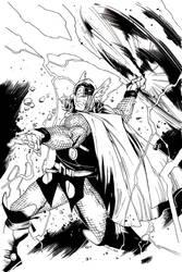 Thor cover by JoshTempleton