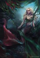 mermaid by Nicola-Alexander