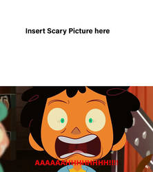 Max is Scared of Template by Eddmendez98