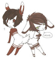 Mine. u v u by MarshmallowCream