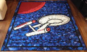 Star Trek Quilt by quiltoni
