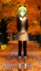 [MMD] Gumi Autumn - Finished Model - DL IS UP! by Xhiao-Yuu