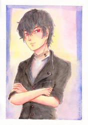 Persona 5 - Protagonist by ciel-kurogami