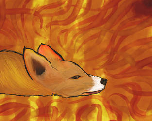Fox Longs For Autumn by Treflex