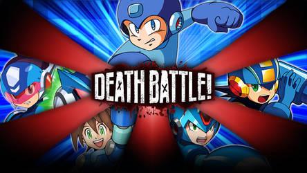 Mega Man battle royale : Super Fighting Robots by Taurock