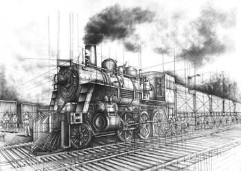 Siberian railway by Kosa666