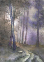 my first watercolours by Kosa666