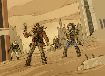 Raiders by ilya-b