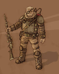 Combat veteran by ilya-b