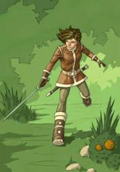 Sword play by ilya-b