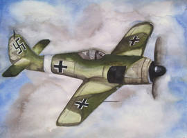 Focke-Wulf Fw 190 by XkrkX