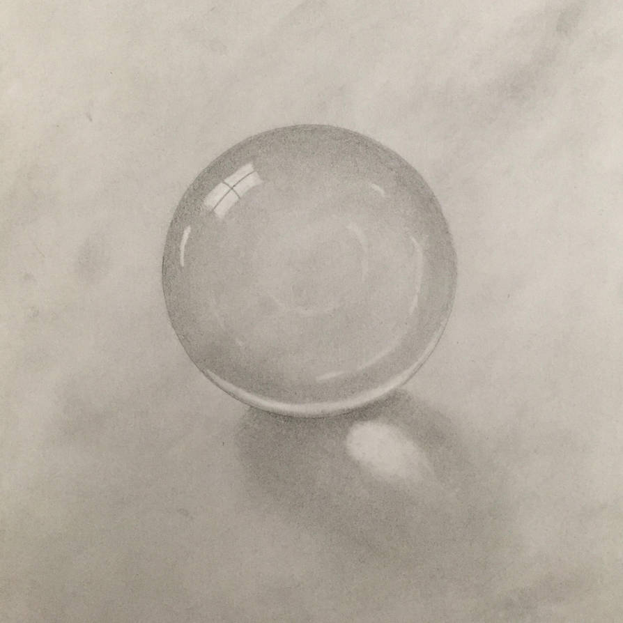 Crystal ball sketch by Anovius