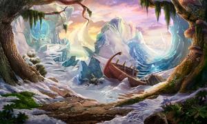 frozen seaside by oh-hope