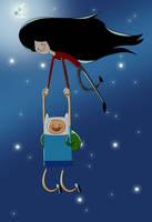 Marceline and Finn by G-manbg