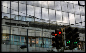 Traffic light HDR by gerenko