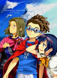 HKD Doujinshi Cover by Cezaria
