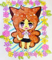 Cute Ears and Cute Tail by FairyBunni
