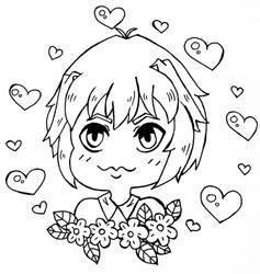 Fun Lineart by FairyBunni