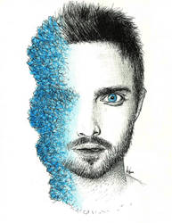 Jesse Pinkman de Breaking Bad by AnnaDarkWalker