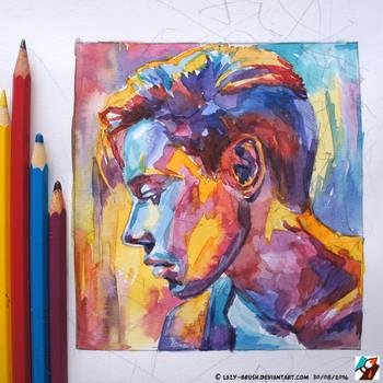Portrait of Dmitry Bikbaev #4 by lazy-brush