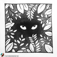 Inktober #6/31 (Hidden) by lazy-brush