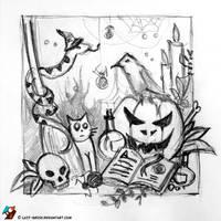 Witchcraft Wednesday (sketch) by lazy-brush