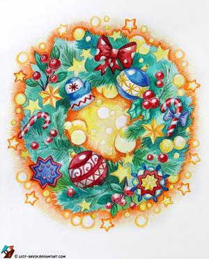 Magic Christmas by lazy-brush