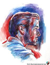Portrait of Ryan Gosling #2 by lazy-brush