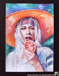 Portrait of Delilah Parillo by lazy-brush